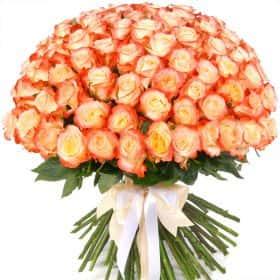 "Букет из 75 роз ""Кабарет"""