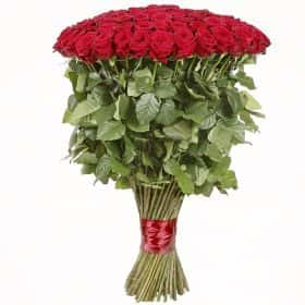 101 длинная роза 130 см