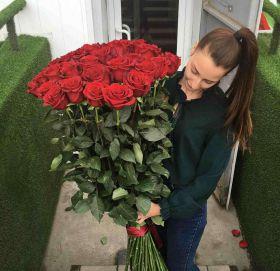 31 длинная роза 110 см