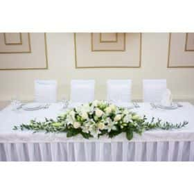 На стол жениха и невесты