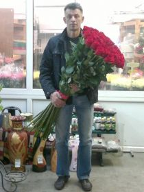 31 длинная роза 140 см