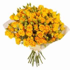 Букет Цветочный Грааль (21 роза)