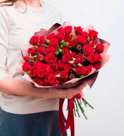 Роза кустовая Алина 60 см