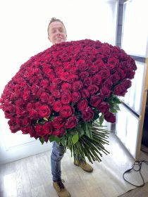 301 длинная роза 110 см