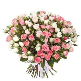 Букет «Розовый дайкири»