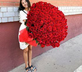 101 длинная роза 110 см