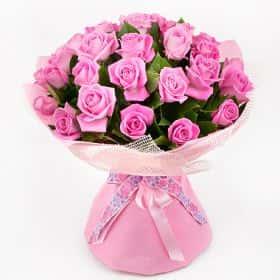 Букет с розами «Элегантная классика»