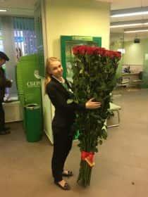 51 гигантская роза 180см