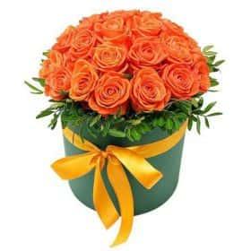 Коробочка с розами Вау
